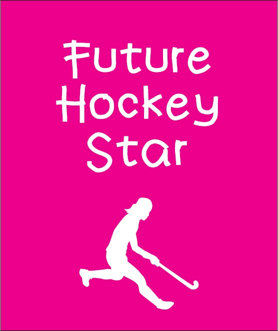 future hockey star personalised baby clothes