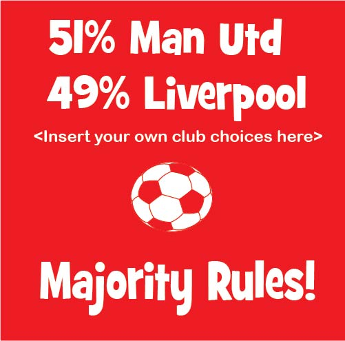 Majority Rules 51% club baby clothes 49%