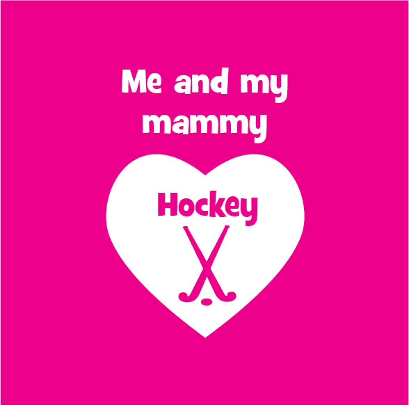me and my mammy love hockey