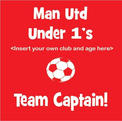 Soccer Team Captain baby clothes