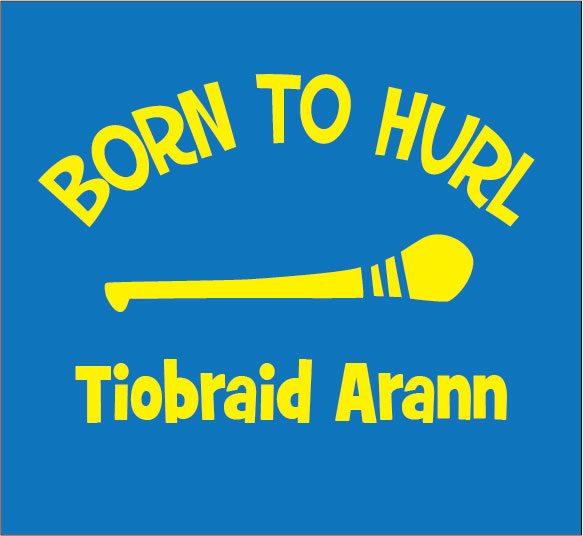 baby clothes personalised born to hurl tipperary