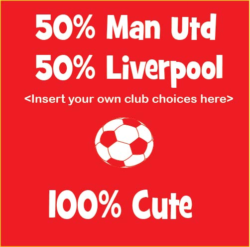 100% Cute personalised baby clothes soccer