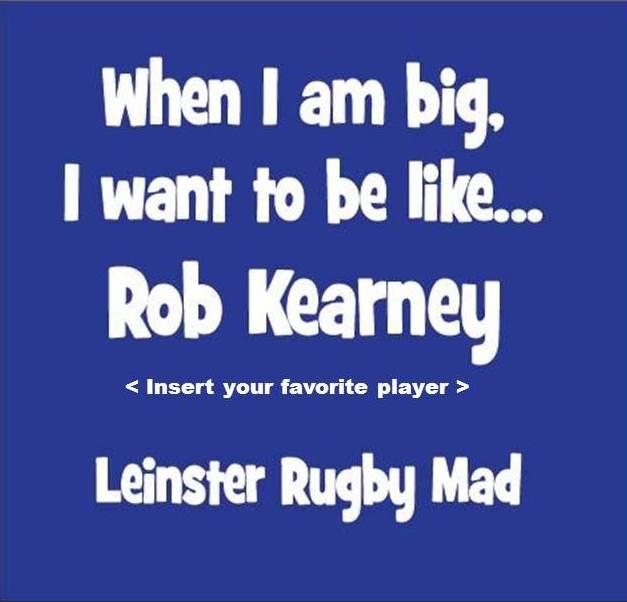 Be like Rob Kearney