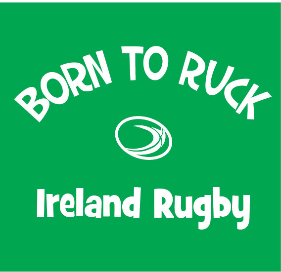 baby clothes born to ruck ireland rugby