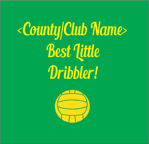 best little dribbler GAA baby clothes