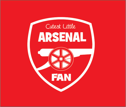 Cutest little Arsenal fan baby clothes