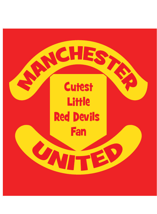 Manchester Cutest little red devils fan baby