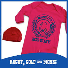 Rugby, golf and more at CoolBaby.ie