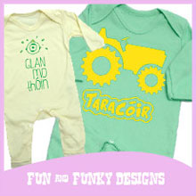 Fun and Funky Designs with Novelty Babywear
