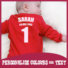 Personalised Items - Your own colours and text